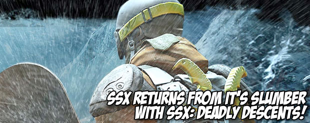 SSX returns from it's slumber with SSX: Deadly Descents!