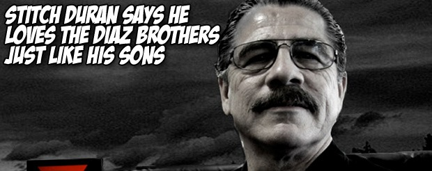 Stitch Duran says he loves the Diaz brothers just like his sons