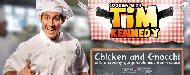 Cooking with Tim Kennedy: Chicken and Gnocchi