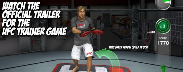 Watch the official trailer for the UFC Trainer game