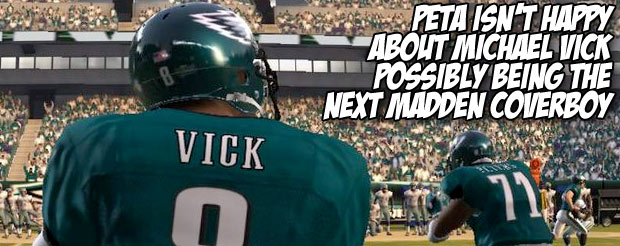 PETA isn't happy about Michael Vick possibly being the next Madden coverboy