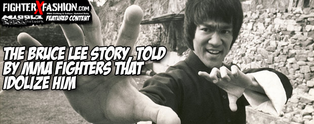 The Bruce Lee Story, told by MMA fighters that idolize him