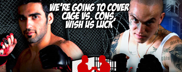 We're going to cover Cage vs. Cons, wish us luck