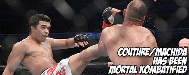 Couture/Machida has been Mortal Kombatified