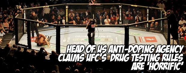 Head of US Anti-Doping Agency claims UFC's  drug testing rules are 'horrific'