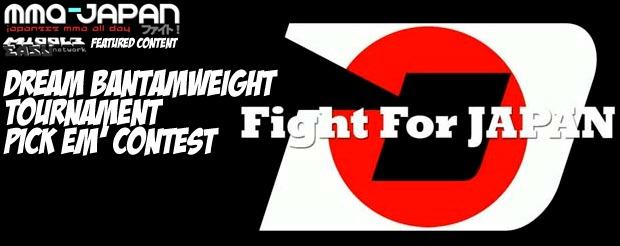 Dream Bantamweight Tournament Pick Em' contest