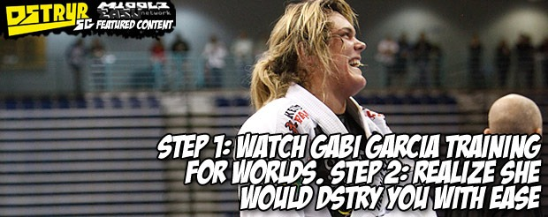 Sure, Gabi Garcia will crush you, but that don't mean she's not a lady