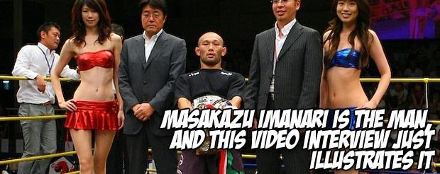 Masakazu Imanari is the man, and this video interview just illustrates it