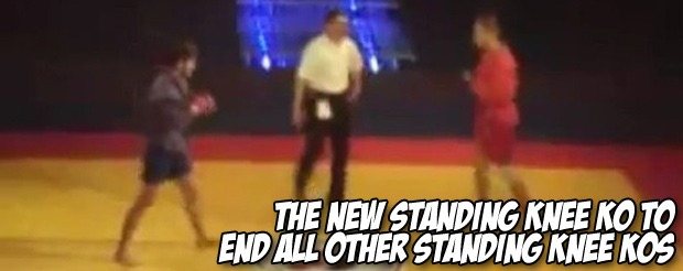 The new standing knee KO to end all other standing knee KOs