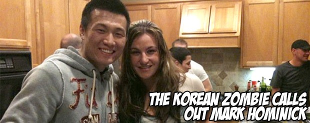 We know you want to watch this video of The Korean Zombie and Arianny Celeste on a Korean gameshow