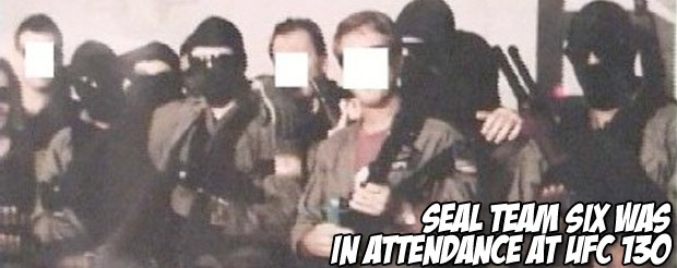 Seal Team Six was in attendance at UFC 130