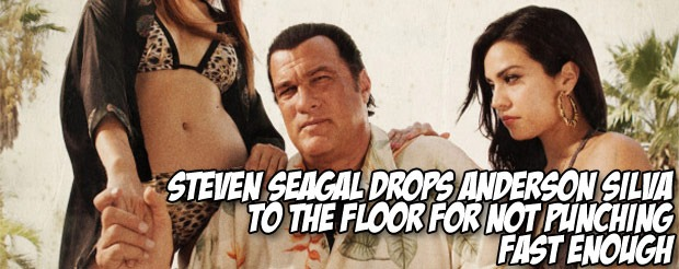 Here's the Anderson Silva Budweiser commercial featuring Steven Seagal that everyone's been talking about…