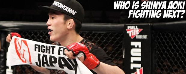 Who is Shinya Aoki fighting next?