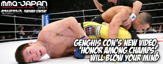 Genghis Con's new video, 'Honor Among Champs', will blow your mind