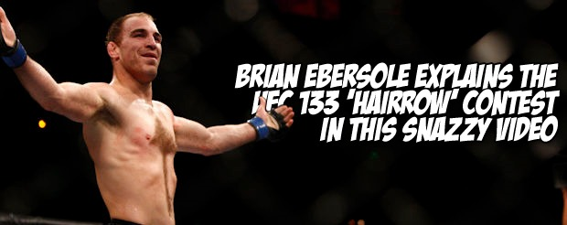 Brian Ebersole explains the UFC 133 'Hairrow' contest in this snazzy video