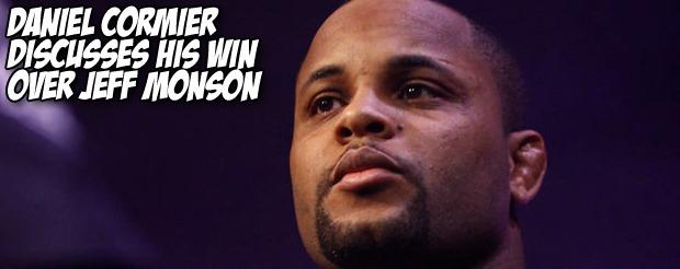 Daniel Cormier discusses his win over Jeff Monson