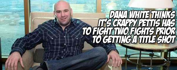 Dana White talks about the good, bad and disgusting moments of UFC 133