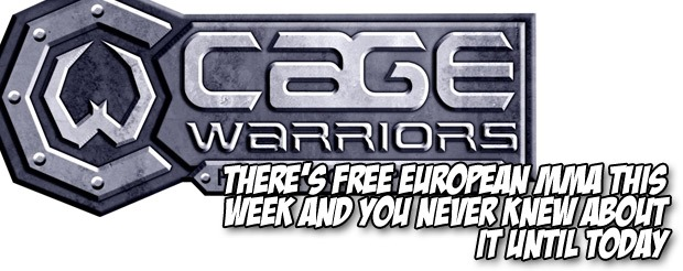 There's free European MMA this week and you never knew about it until today