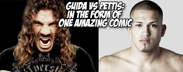 Guida vs Pettis: In the form of one amazing comic