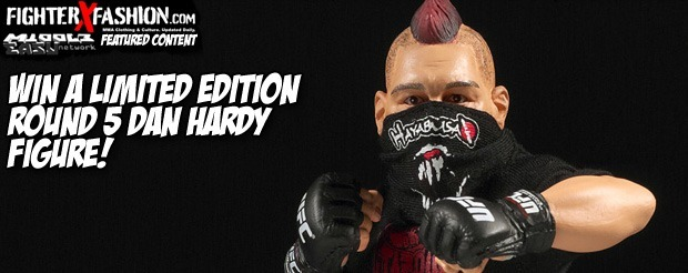 Win a limited edition Round 5 Dan Hardy figure!