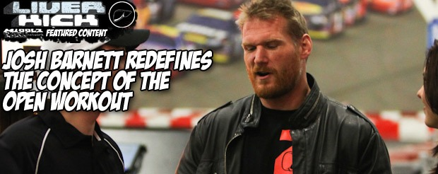 Josh Barnett will get another fight in Strikeforce before their heavyweight division is dismantled