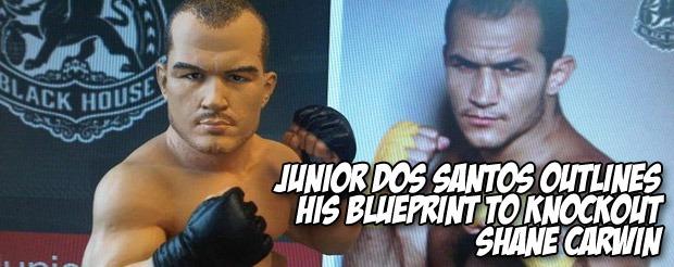 Junior Dos Santos outlines his blueprint to knockout Shane Carwin