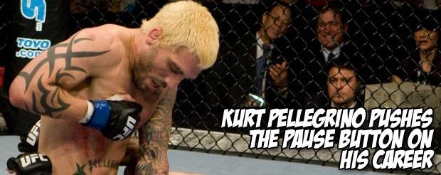 Kurt Pellegrino pushes the pause button on his career