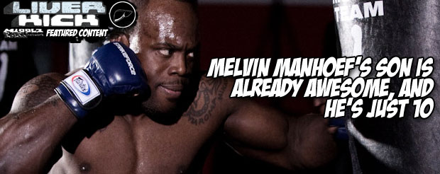 Melvin Manhoef's son is already awesome, and he's just 10