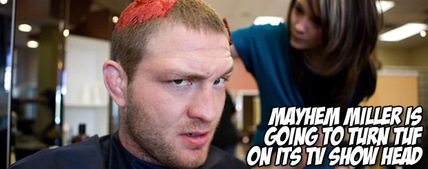 Mayhem Miller thinks that his fighters on TUF will be chicken salad