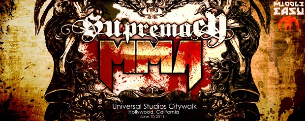 Check out our coverage of the Supremacy MMA party at the Universal Studios Citywalk