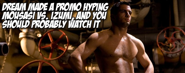 DREAM made a promo hyping Mousasi vs. Izumi, and you should probably watch it
