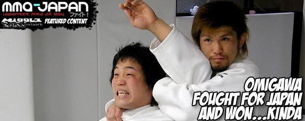 Omigawa fought for Japan and won…kinda