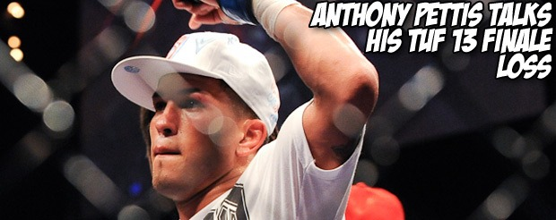 Anthony Pettis talks his TUF 13 Finale loss