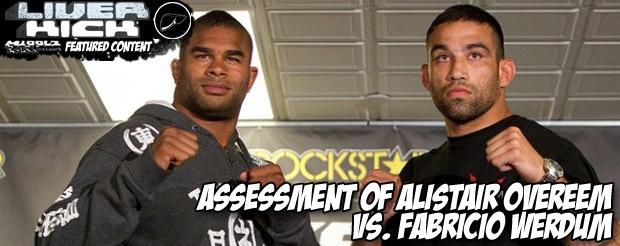 Assessment of Alistair Overeem vs. Fabricio Werdum