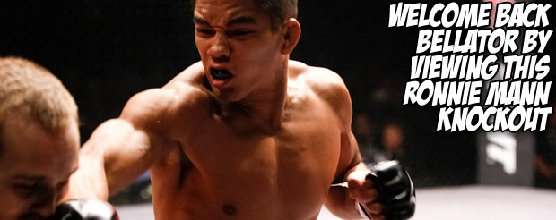 Before you see him next weekend at Bellator 60, watch this Ronnie Mann documentary we made