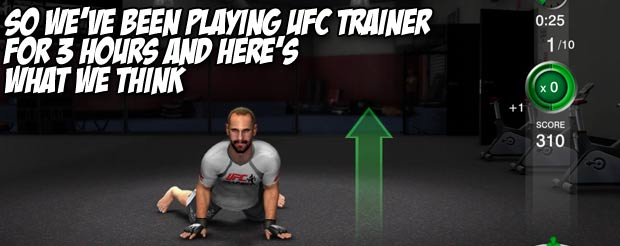 So we've been playing UFC Trainer for 3 hours and here's what we think