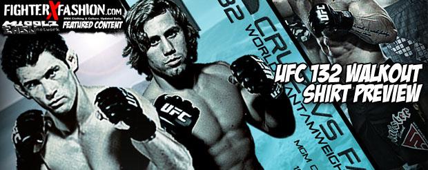 UFC 132 Walkout Shirt Preview