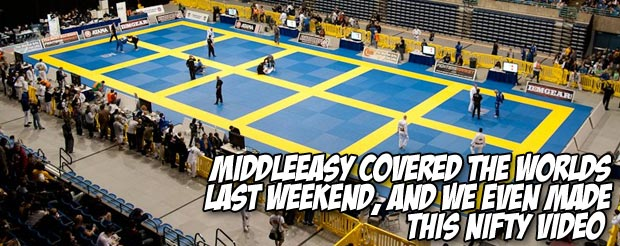 MiddleEasy covered the Worlds last weekend, and we even made this nifty video