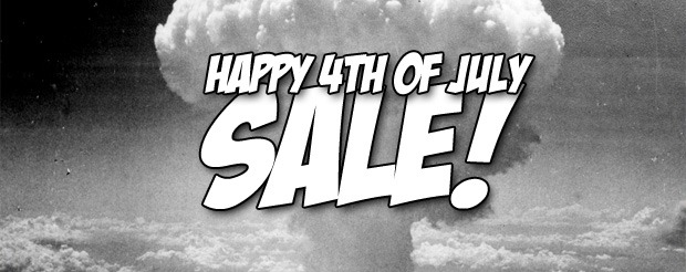 Happy 4th of July Sale – Get FREE SHIPPING anywhere in the world!