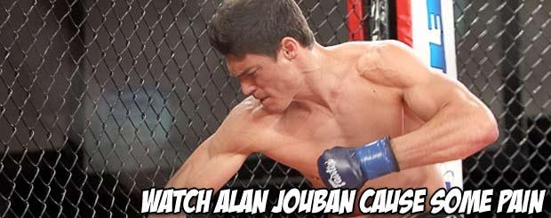 Watch Alan Jouban cause some pain