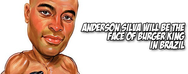 Anderson Silva's new Burger King commercial is out and we don't understand a word of it (but we get the point)