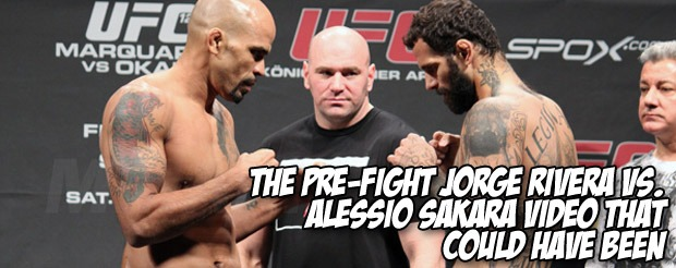 The pre-fight Jorge Rivera vs. Alessio Sakara video that could have been