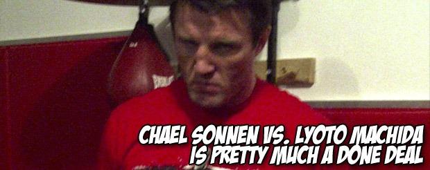 Chael Sonnen vs. Lyoto Machida is pretty much a done deal