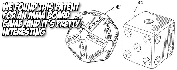 We found this patent for an MMA board game, and it's pretty interesting