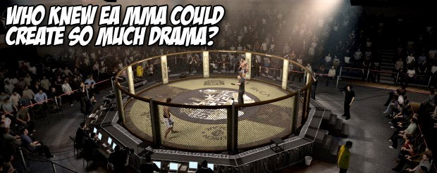 Who knew EA MMA could bring so much drama?