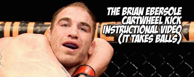 The Brian Ebersole cartwheel kick instructional video (it takes balls)