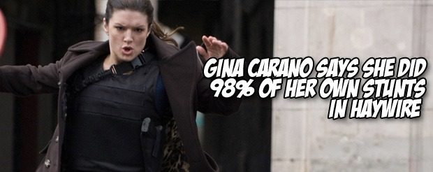 Gina Carano admits her voice was altered in the movie 'Haywire'