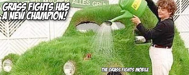 Grassfights has a new champion!