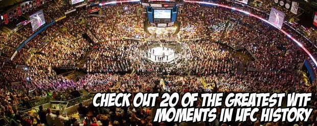 Check out 20 of the most WTF moments in UFC history