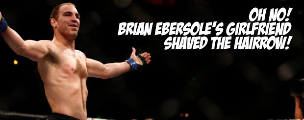 Oh no! Brian Ebersole's girlfriend shaved the Hairrow!